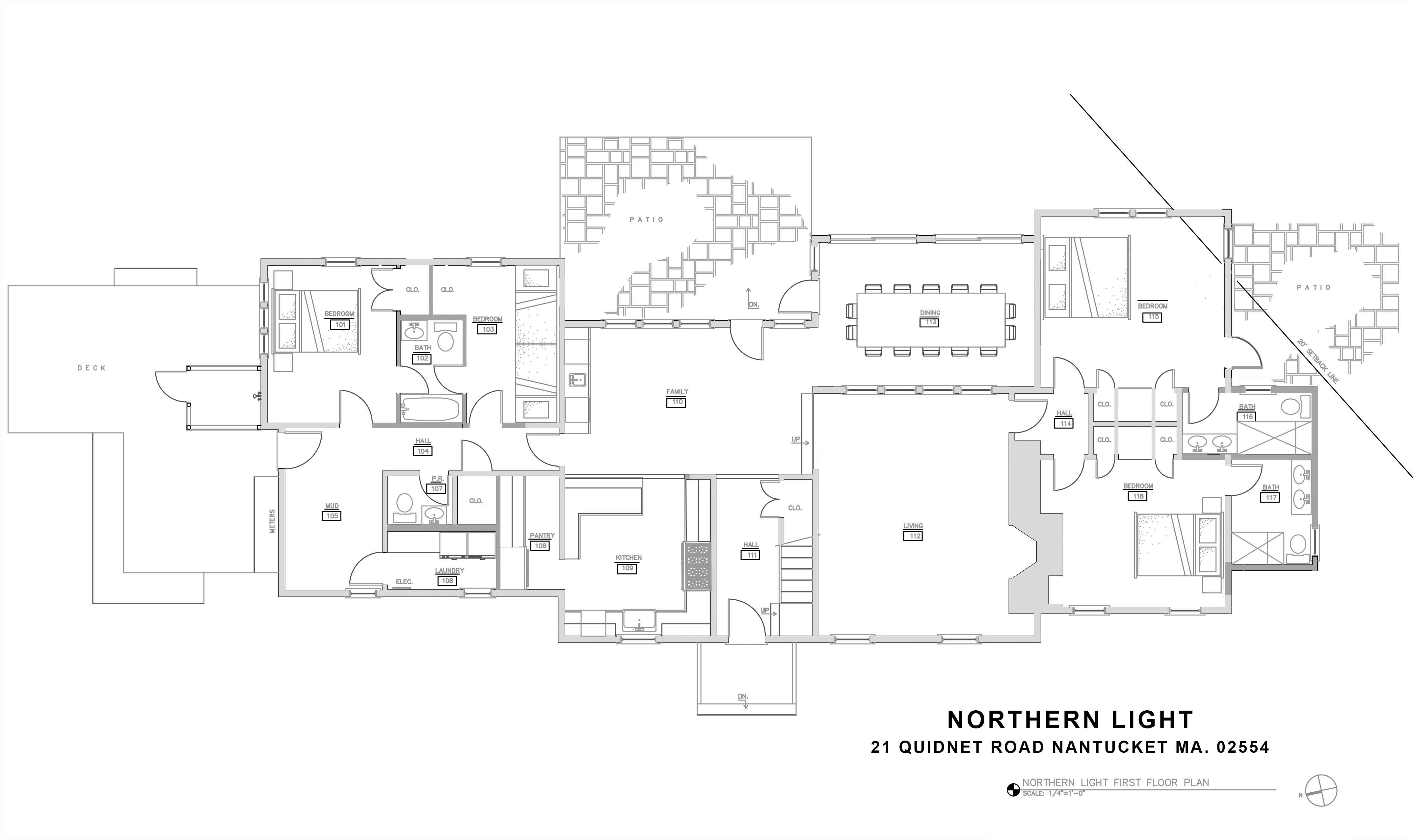 First light house floor plan house plans for Northern house plans